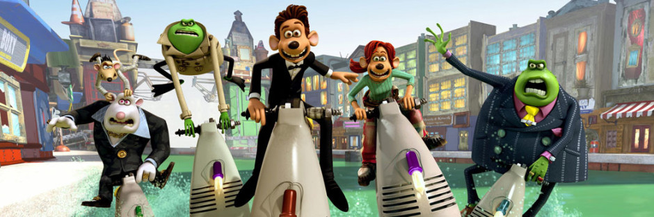 flushed away 2006 movie review from the balcony
