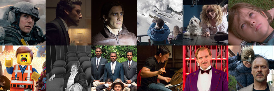 The Top 12 Films of 2014